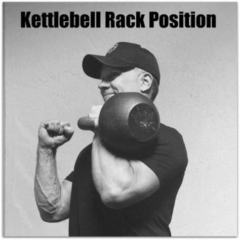 kettlebell rack position press allows begin
