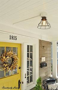 replace your light fixture for under 20 with no wiring With no wire outdoor lighting
