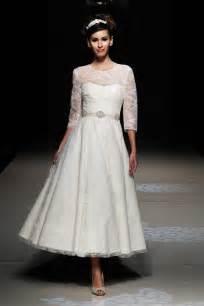 tea length wedding dresses for brides tea length wedding dresses for images