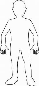 Outline Of Human Body Printable - Anatomy Organ