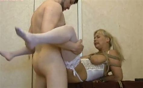 Busty Blonde Amateur Chick Tied Up And Fucked On The Desk Mylust Com Video