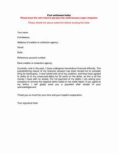 full and final settlement letters carbonmaterialwitnessco With debt negotiation letter template