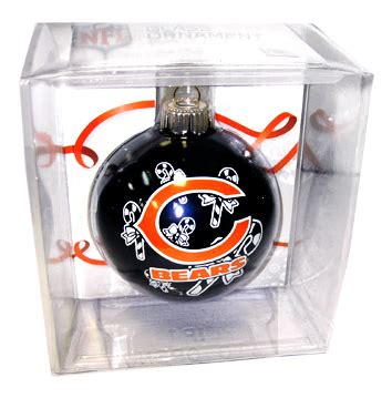bears christmas ornament great chicago gifts