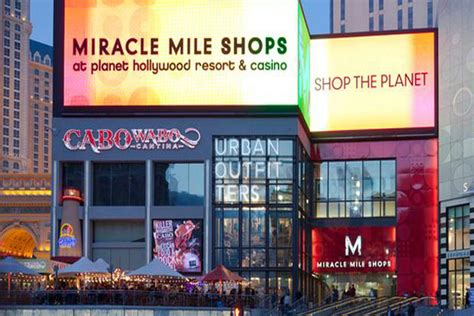 miracle mile shops  planet hollywood exploring las vegas