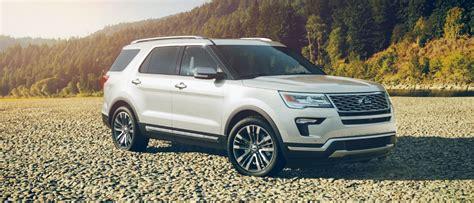 2018 Ford Explorer Exterior Color Picture Gallery