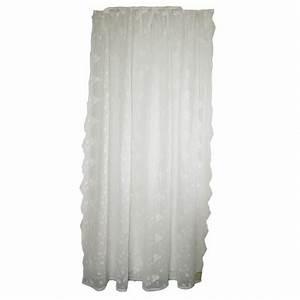 Rideau Blanc Cassé : rideau de douche blanc cass maria avec ses broderies par van deurs danmark ~ Teatrodelosmanantiales.com Idées de Décoration