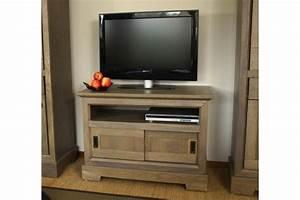 Meuble Tele Haut : meuble tv assez haut ~ Teatrodelosmanantiales.com Idées de Décoration