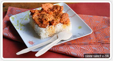 recette sans sel poulet tandoori cuisine saine