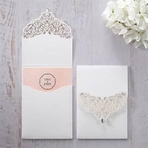 jeweled white lasercut pocket iwp14010 pk wedding With laser cut wedding invitations in dallas