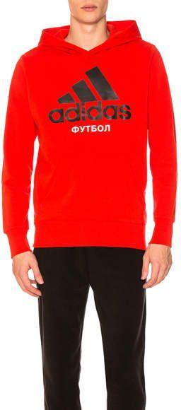 gosha rubchinskiy  adidas hooded sweatshirt