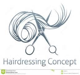 Hairdressers Scissors Concept Stock Vector - Image: 51739474