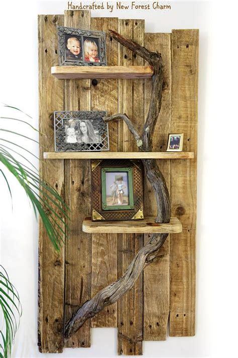 sold rustic wall shelf wall art reclaimed retro pallet