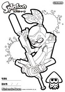Splatoon 2 Printable Coloring Pages
