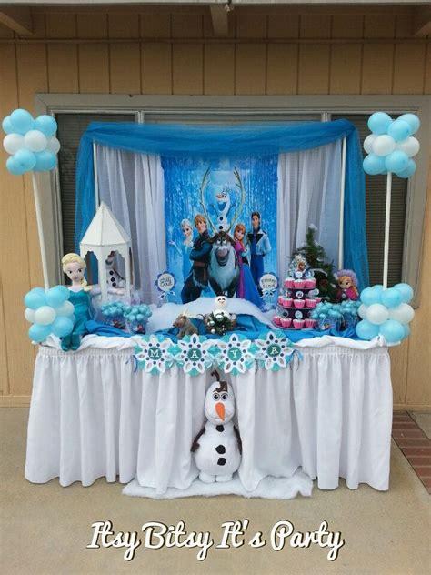 frozen party frozen banner frozen decoration