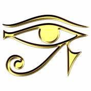Eye of Horus / udjat - right eye - sun eye / wedjat - left ...