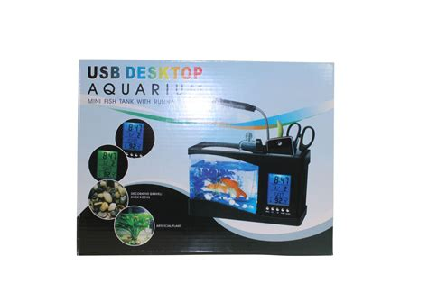 aquarium bureau channel distribution gifts en gadgets usb aquarium
