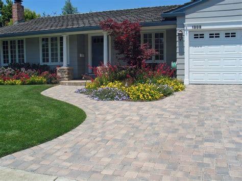 front yard paver designs interlocking pavers front yard pinterest