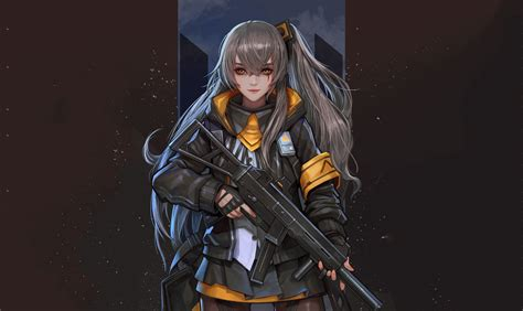 Anime Wallpaper Fanart - wallpaper s frontline fan 4k anime 11340