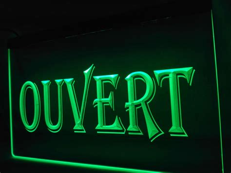 neon signs for home decor lk162 ouvert open led neon light sign home decor crafts in