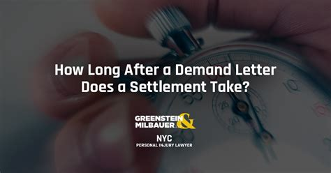 how long after a demand letter does settlement take how after a demand letter does a settlement take 22153   GM001 How Long After a Demand Letter Does a Settlement Take