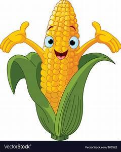Corn cartoon character vector by Dazdraperma - Image ...