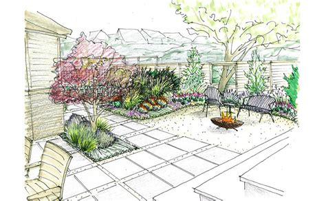 image gallery modern landscape design sketches