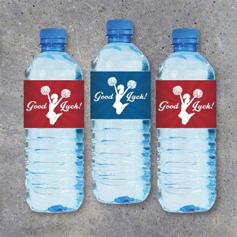 sample water bottle label templates