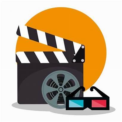 Theater Icon Icons Cinema Kino Clapper Movietheater