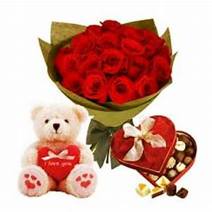 Chocolates and Teddy Bear For You