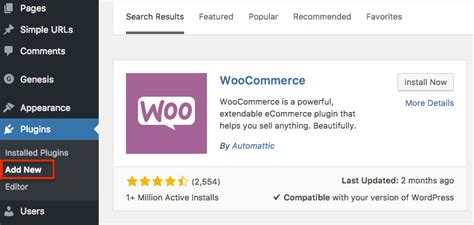 how to set up a ecommerce website with woocommerce