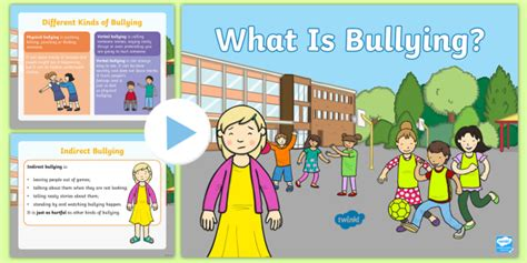 * New * Cfe Whole School Assembly On Bullying Powerpoint  Health And