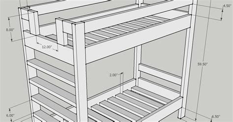 Width Of Bed - bunk bed dimensions anthropometric measures bunk bed