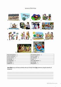 Leisure Activities worksheet - Free ESL printable ...