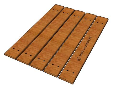 deck boards minimum spacing deck boards