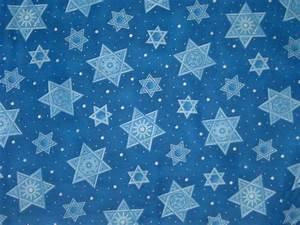 JEWISH FABRIC STAR OF DAVID SHIELD OF DAVID HANUKKAH .
