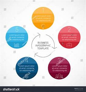 Vector Circle Infographic  Template For Cycle Diagram  Graph  Presentation And Round Chart