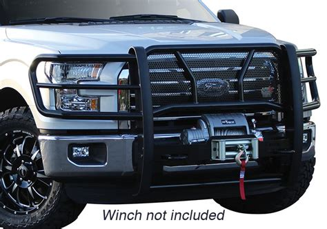 brush guard  winch     ford  forum
