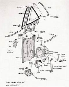 Rear Quarter Window Diagram