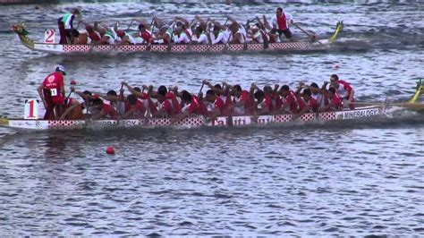 Dragon Boat Racing Team by Tahiti Dragon Boat Racing Team Nottingham England 2012