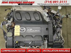 01 02 03 04 Mazda Tribute Engine 3 0l V6 24 Valve Duratec 30 Engine Jdm Aj Motor