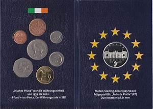 Der Irland Shop : irland die letzten nationalen kursm nzen vor der euro w hrung polierte platte proof pp ma shops ~ Orissabook.com Haus und Dekorationen