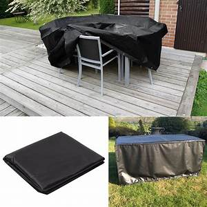 Waterproof 4 6 8 10 seater furniture set cover table chair for Waterproof outdoor furniture covers australia