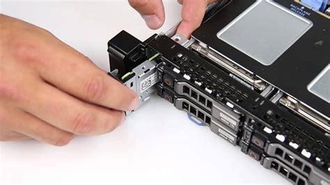dell poweredge  remove install control panel