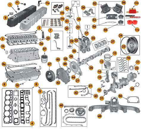Jeep Yj 6 Cyl Engine Diagram by Amc 6 Cylinder 4 2l 258ci Engine Parts For Jeep Yj Cj S