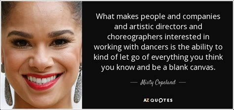 misty copeland quote   people  companies