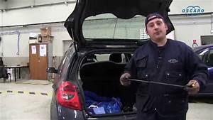 Renault Clio 3 - Changer Les V U00e9rins De Hayon