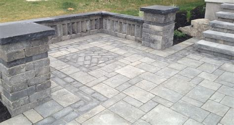 interlocking patio designs interlocking stone traditional patio toronto by platinum stone design inc