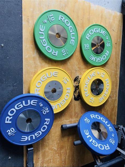 offerup rogue bumper plates