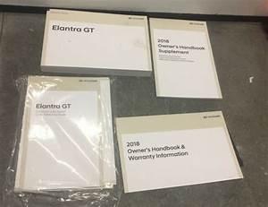 18 2018 Hyundai Elantra Gt Owners Manual    Handbook