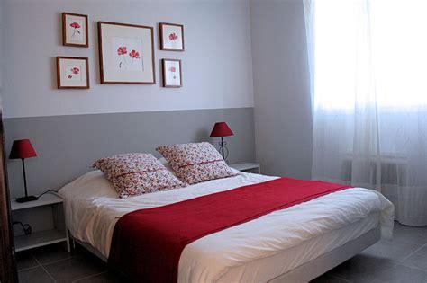 chambre d h e coquine déco chambre adulte blanc
